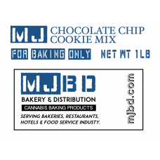 MJBD™ MJ Chocolate Chip Cookie Mix
